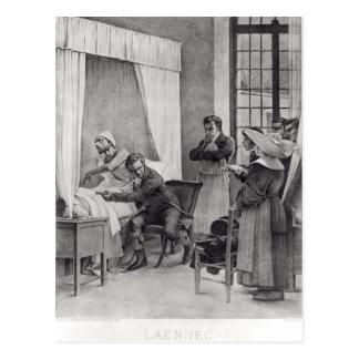 Rene Theophile Hyacinthe Laennec Tarjeta Postal