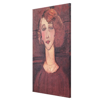 Renee, 1917 canvas print