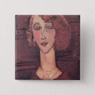 Renee, 1917 pinback button