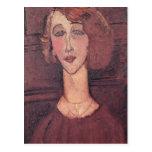 Renee, 1917 postal