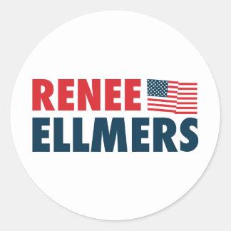 Renee Ellmers for America Classic Round Sticker
