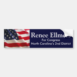 Renee Ellmers para el congreso Pegatina Para Auto