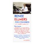 Renee Ellmers para las salidas de la mano del cong Tarjetas Publicitarias