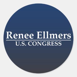 Renee Ellmers U.S. Congress Classic Round Sticker
