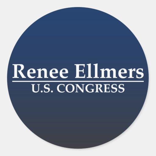 Renee Ellmers U.S. Congress Round Stickers