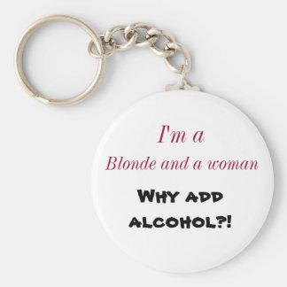 ¿Renee Moller porqué añada el alcohol? llavero