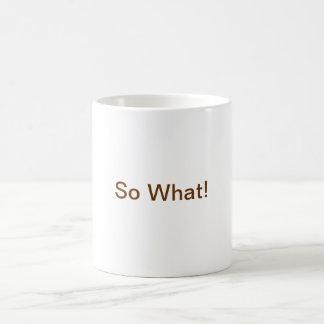 Renee Classic White Coffee Mug
