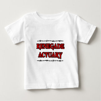 Renegade Actuary Baby T-Shirt