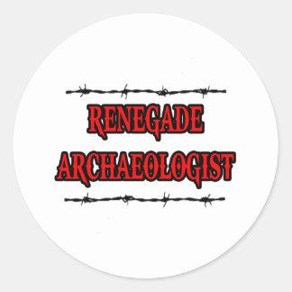 Renegade Archaeologist Classic Round Sticker