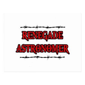 Renegade Astronomer Postcard