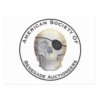 Renegade Auctioneers Postcard