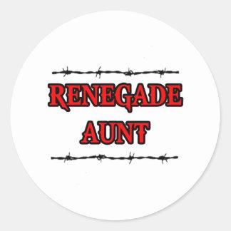 Renegade Aunt Stickers