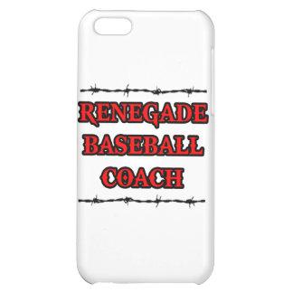 Renegade Baseball Coach iPhone 5C Cases