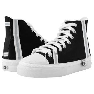 Renegade Bay Designer Hi-Top Sneakers Printed Shoes