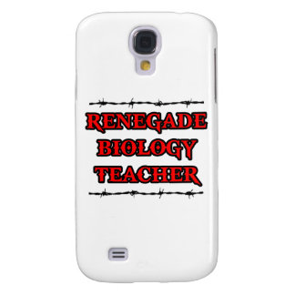 Renegade Biology Teacher Galaxy S4 Covers