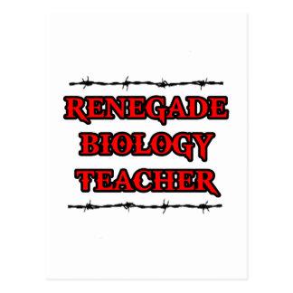 Renegade Biology Teacher Postcard