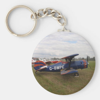 Renegade Biplane Keychain