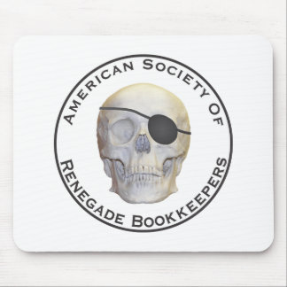 Renegade Bookkeepers Mouse Pad