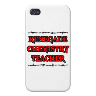 Renegade Chemistry Teacher iPhone 4 Cases