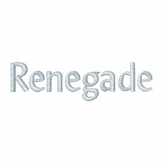 Renegade Embroidered Hoodies