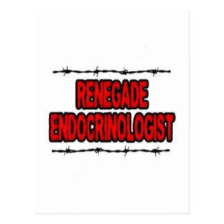 Renegade Endocrinologist Postcard