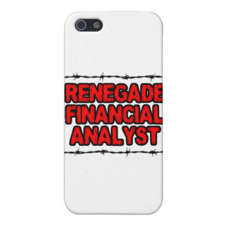 Renegade Financial Analyst Cases For iPhone 5