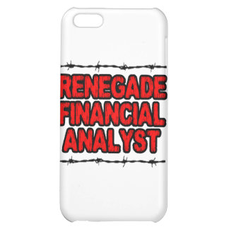Renegade Financial Analyst iPhone 5C Cases