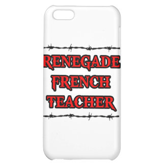 Renegade French Teacher iPhone 5C Covers