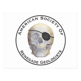 Renegade Geologists Postcard