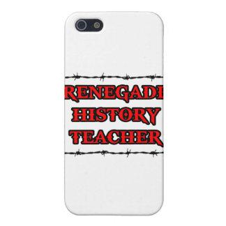 Renegade History Teacher iPhone 5 Cases