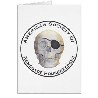 Renegade Housekeepers Card