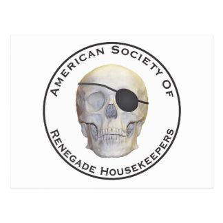 Renegade Housekeepers Postcard