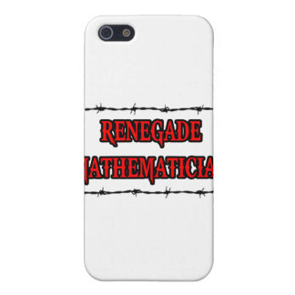 Renegade Mathematician Covers For iPhone 5