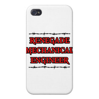 Renegade Mechanical Engineer Case For iPhone 4