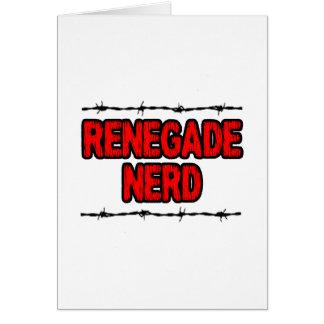 Renegade Nerd Card