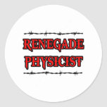 Renegade Physicist Stickers