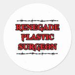 Renegade Plastic Surgeon Sticker