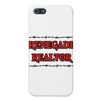 Renegade Realtor iPhone 5 Covers