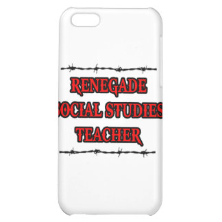 Renegade Social Studies Teacher iPhone 5C Cover