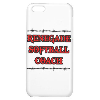 Renegade Softball Coach iPhone 5C Case