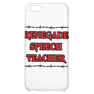 Renegade Speech Teacher iPhone 5C Cases