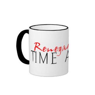 Renegade Time Agent Ringer Mug