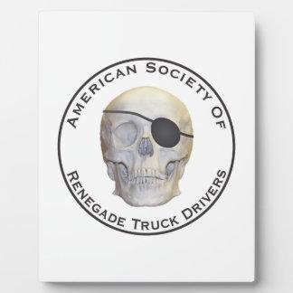 Renegade Truck Drivers Plaque
