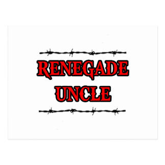 Renegade Uncle Postcard
