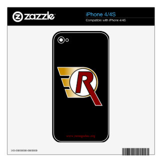 Renegades 'R' iPhone 4/4S Skin iPhone 4S Decals