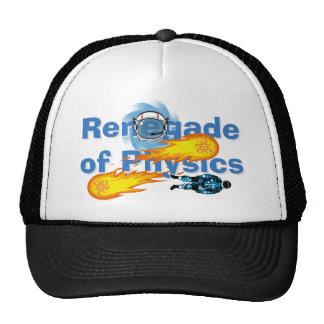 Renegado del gorra del camionero de la física
