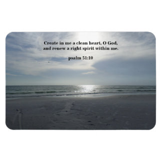 RENEW A RIGHT SPIRIT WITHIN ME MAGNET