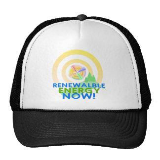 Renewable Energy Cap Hats