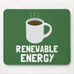 Renewable Energy Coffee Cup Mouse Pad