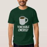 Renewable Energy Coffee Cup T Shirt